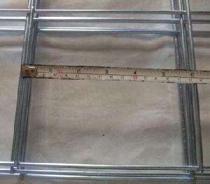 6 square hole weldmesh panel