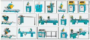 pvc aluminium profile processing machines window door manufacturers