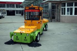 street sweeping machine