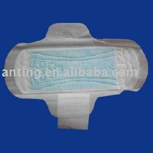 blue sanitary napkins