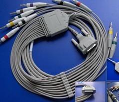schiller electrocardiography cable 1 2 2plus 4 104 10plus 102 cs 200