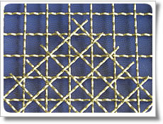 iron steel crimped wire mesh