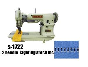 needle fagoting stitch sewing machine