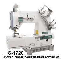 zigzag picoting chainstitch sewing machine