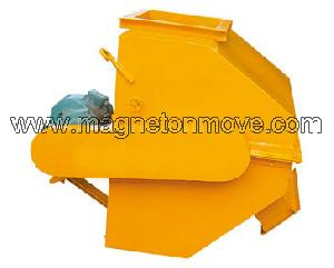 iron powder dry permanent magnetic separator
