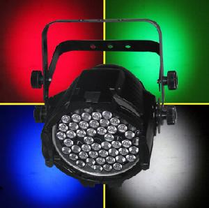 led stage lighting par 64 rgbw 4 colors 52x3watt