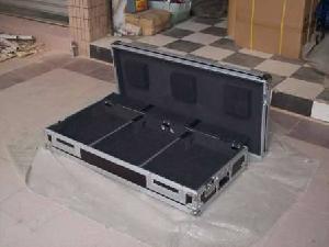 flight case dj coffin cases hold pioneer 2cdj1000 1 mixer djm800