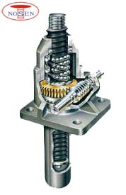 stainless steel ball screw jack
