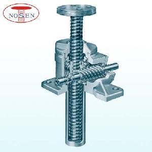 stainless steel worm gear screw jack