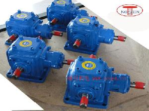 straight angle bevel gearbox