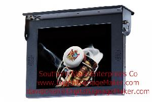 bus vehicle automobile lcd advertising player digital signage screen monitor