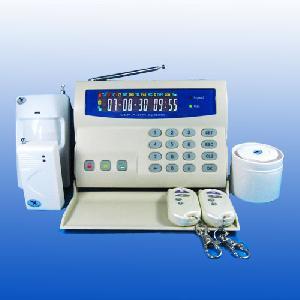 gsm alarm system lcd
