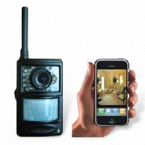 mms intruder camera alarm system