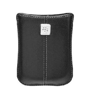 rim blackberry 9500 storm leather pocket