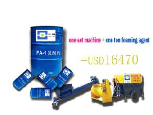 fm 20 foamed concrete machine