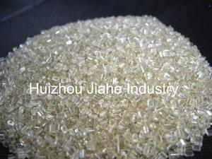 recycled pet chips pellets granules bottles fiber