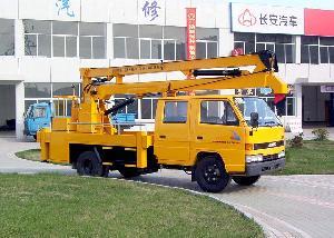arm hydrauic aerial platform truck