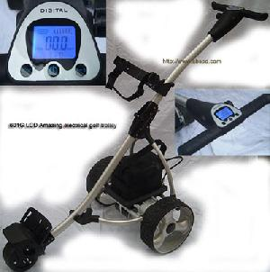 601g lcd amazing electrical golf trolley