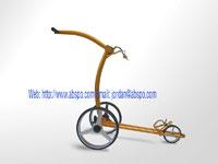 x2p beauty push golf trolley brake