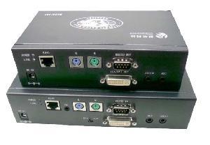 dvi audio ps2 rs232 extender extension distance 130m cat5e network cable