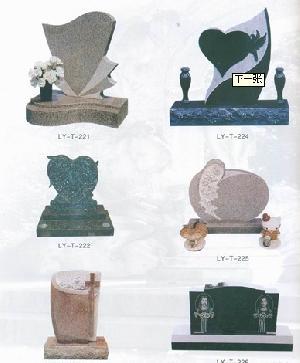 granite gravestone headstone europe tombstone monument