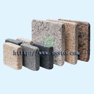 paving stone curbstone mesh mount