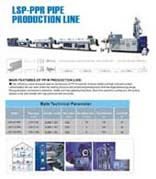 pp r pipe extrusion line