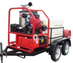 trailer mounted pressure pump