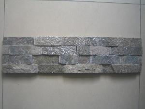grey quarzite wall cladding stone