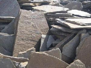 rustic quarzite irregular slabs