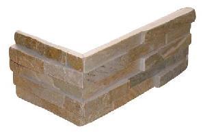 slate corner stone wall