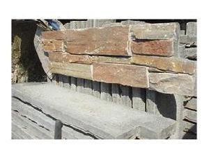 slate culture stone cement