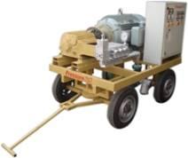 hydrojetting machine