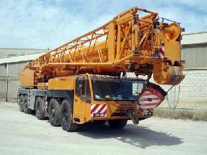 mobile crane demag ac 535 terex temag