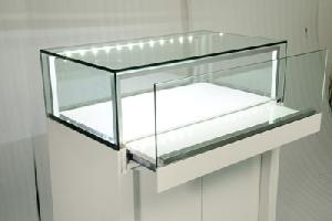 store glass showcase display case