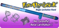 fun fly stick science toy