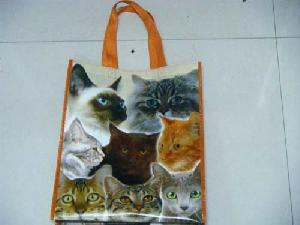 cat non woven bag lamination
