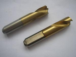 hss co spot weld drills flat shank vario version