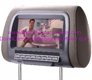 7 ad701v cab lcd advertise player screen taxi digital media play car kab