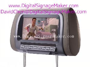 7 ad701v car cab taxi lcd advertising monitor screen media player pop pos