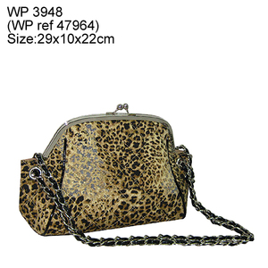 leopard printing fashion bag