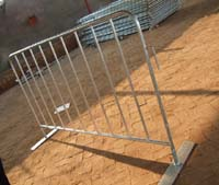 steel barricades crowd control concerts events exhibitions