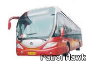 patrol hawk bus vehicles system