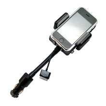 fm transmitter iphone 3gs 3g hands car kit charger