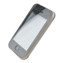 frosted case cover screen protector apple iphone 3gs 3g