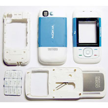 housing faceplate cover nokia 5200 blue