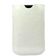premium leather shining case pouch bag cover 3gs iphone 3g 2g