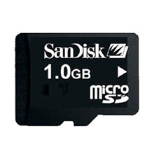 sandisk micro sd 1 gb