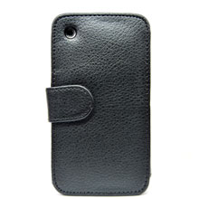 wallet magnetic flip soft leather case iphone 3gs 3g
