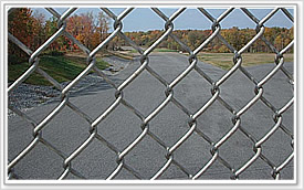 chain link wire mesh fence diamond rhombic